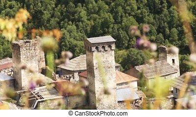 Svaneti old town. Georgia
