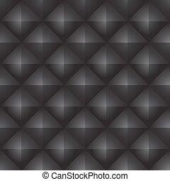 svart, abstrakt, pattern., seamless