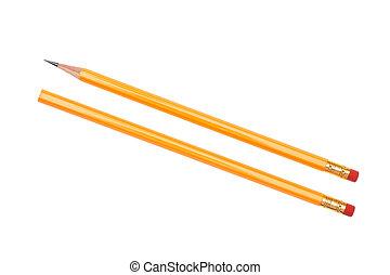 svart, blyertspenna