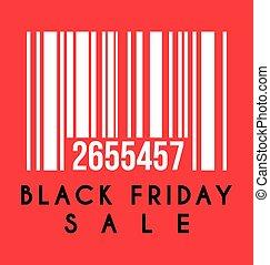 svart, försäljning, fredag, etikett