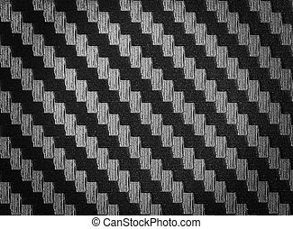 svart, fiber, struktur, kol