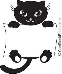 svart katt