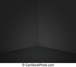 svart, rum, bakgrund