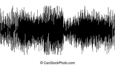 svart, sammandrag formge, bakgrund, in, den, bilda, av, wave.