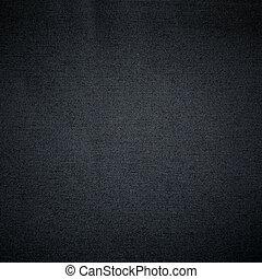svart, tyg