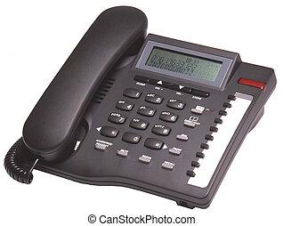 svarta telefonera