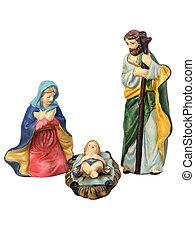 svatý, rodina, dohromady