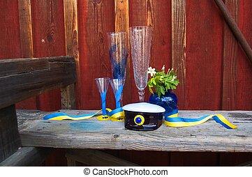 svedese, laureandosi, kit