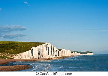 Sven Sisters Cliffs South Downs England landscape