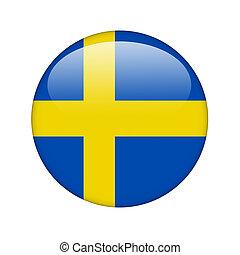 Svensk Flagga Clipart Och Stock Illustrationer 1 772 Svensk Flagga
