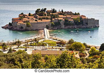 sveti, stefan, -, montenegro.