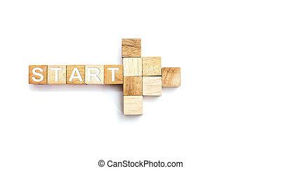 sviluppo, affari, inizio, riuscito, positivo, concept., improvement., day., personale, difference., fresco, trasformazione