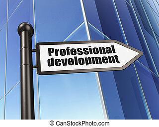 Sviluppo, costruzione, fondo, segno, cultura, professionale,  concept: