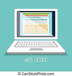 sviluppo, disegno web