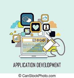 sviluppo, domanda, concetto