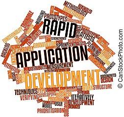 sviluppo, domanda, rapido