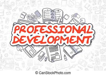 sviluppo, professionale, concept., -, affari