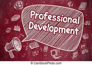Sviluppo, professionale, concetto,  -, affari