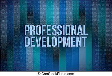 sviluppo, professionale, concetto, bi