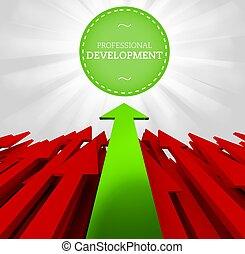 Sviluppo, professionale, individualità, concetto