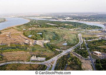 sviluppo, vista aerea