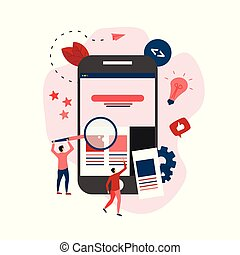 sviluppo, web, concetto, webpage, creativo, disegno