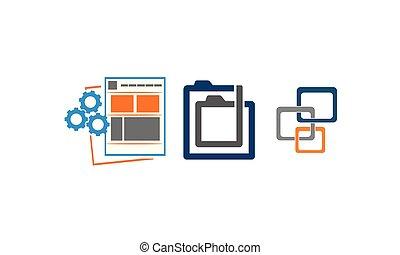 sviluppo, web, progetto serie