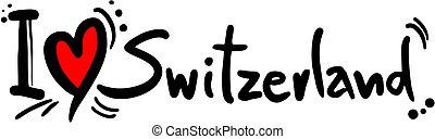 svizzera, amore