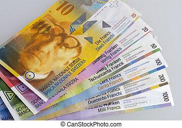 svizzero, effetti, banca