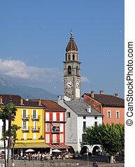 svizzero, famoso, ascona, città, ricorso