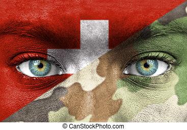 svizzero, soldato