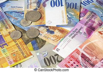 svizzero, soldi, note