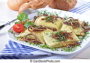 Swabian ravioli