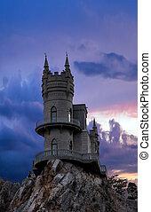 Swallow's nest castle, Yalta, Crimea - Swallow's nest...