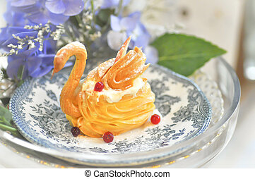 swan choux cream