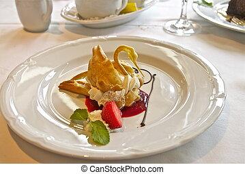 Swan pastry