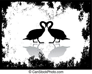 swan silhouette