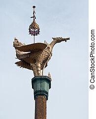 Swan statue