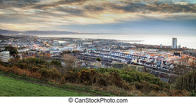 Swansea City Centre and East Side