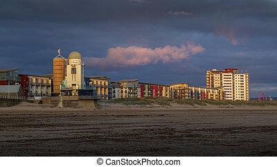 Swansea coastal housing and observatory