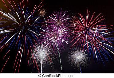 Swansea firework display