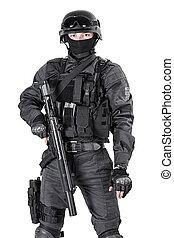 SWAT police officer