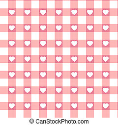 Swatch ready seamless Hearts