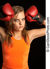 sweat - boxer girl