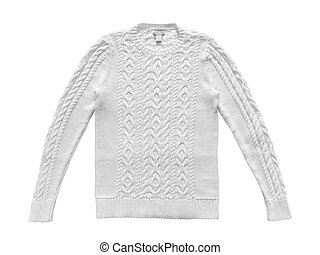 Sweater isolated on white background
