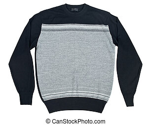 sweater on a white background
