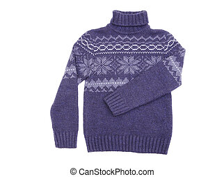 sweater isolated on a white