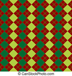 sweater texture mixed green and red