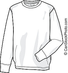 Sweatshirt - Colorable sweatshirt, front
