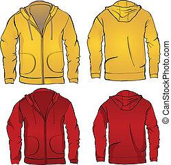 sweatshirt, hoodie, gabarit